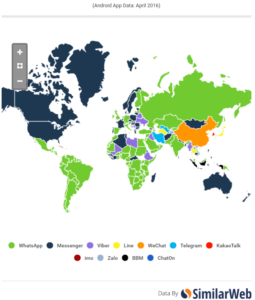 Best Social Messaging Apps By Country